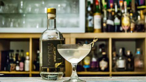 Der Loredry Gin im Gibson Martini.