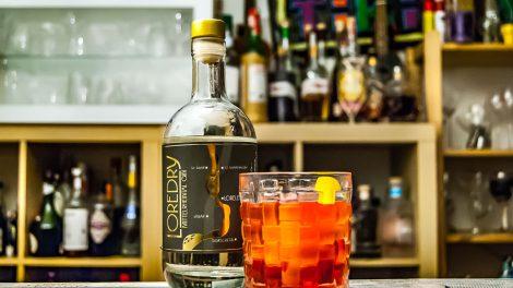 Der Loredry Gin im Negroni.