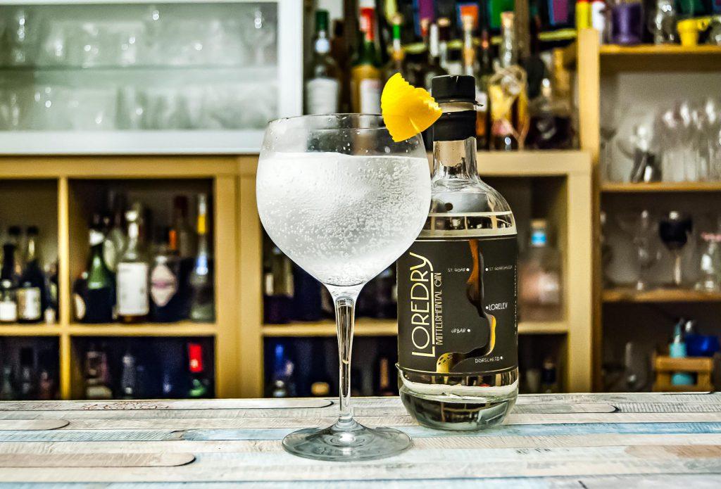 Der Loredry Gin im Gin Tonic.