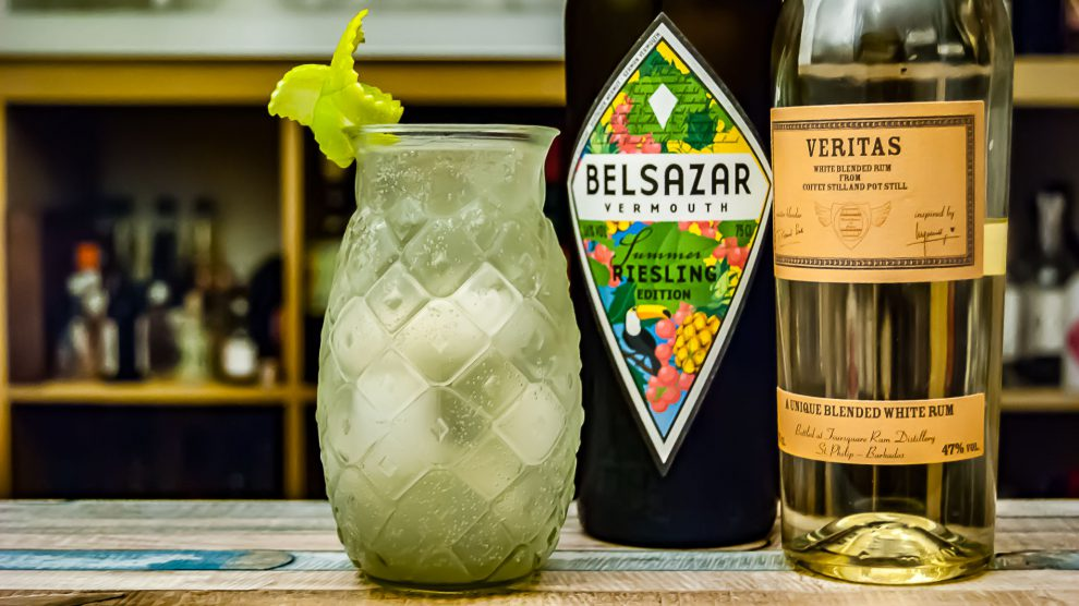 Der Light & Piney mit Belsazar Summer Edition und Veritas Rum.