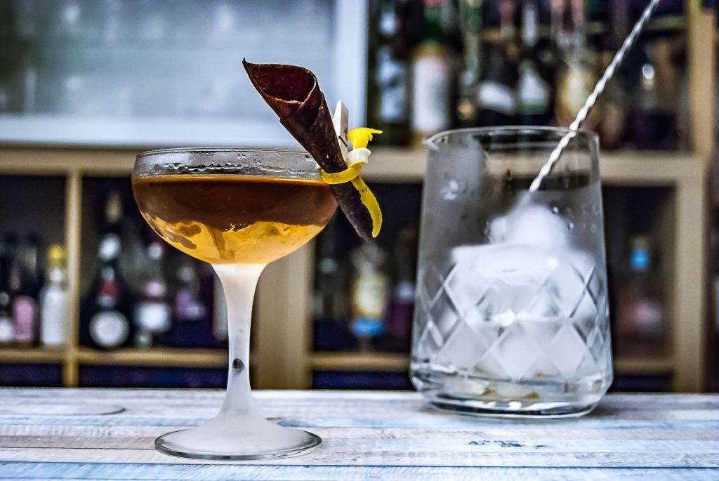 Heinrich von Have Köm im Norditerranean Cocktail.