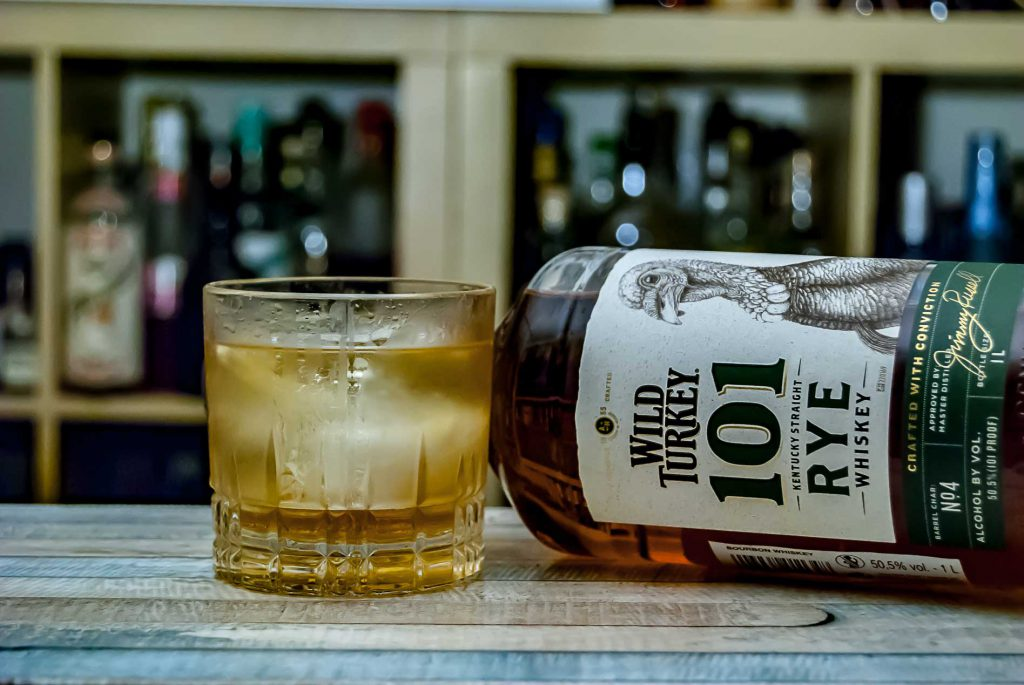 Wild Turkey 101 Rye im Old Fashioned.