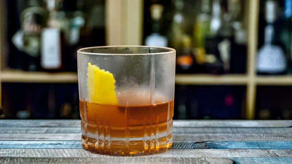Wild Turkey 101 Rye Whiskey im Sazerac.