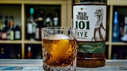 Wild Turkey Rye 101 im Vieux Île - unserem karibischen Twist auf den Vieux Carré.