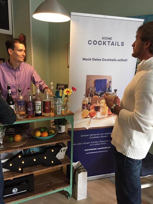 Mit Home Cocktails geht Alexander auch gerne auf Tour unter angehenden Hobby-Mixologen.