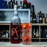 Dalva Rosé Port in einem Porto Tonic.