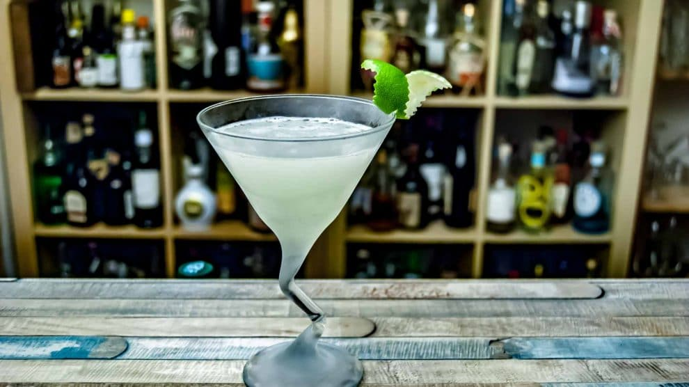 Huizache Tequila Blanco in einer klassischen Margarita.