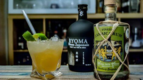 Von Have Jamaica Rum im Mai Tai mit Ryoma Japanese Rum.