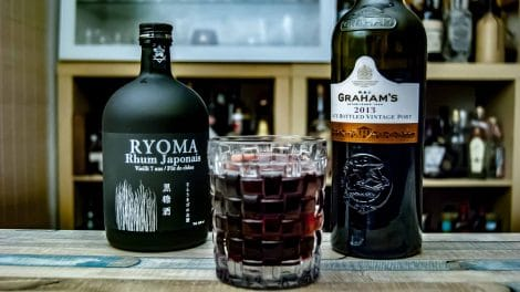 Ryoma Rhum Japanoise im Rum & Port mit Graham's Late Bottled Vintage Port 2013.