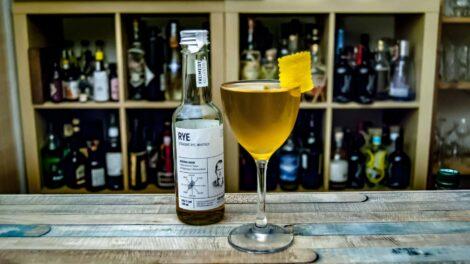 Der Freimeisterkollektiv Straight Rye im Purgatory Cocktail.