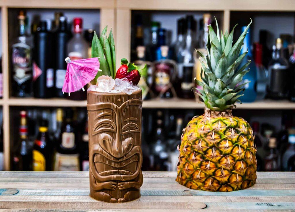 Gunroom Navy Rum ist ein ziemlich krasser Verstärker für jede Art von Tiki-Drink.