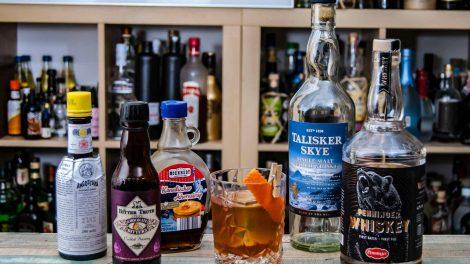Penninger Whiskey (nebst diversen anderen Zutaten) in einem Don Lockwood-Cocktail.