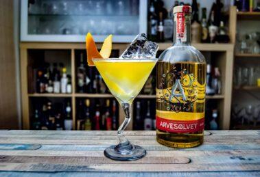 Arvesolvet Aquavit im Frokost Cocktail.