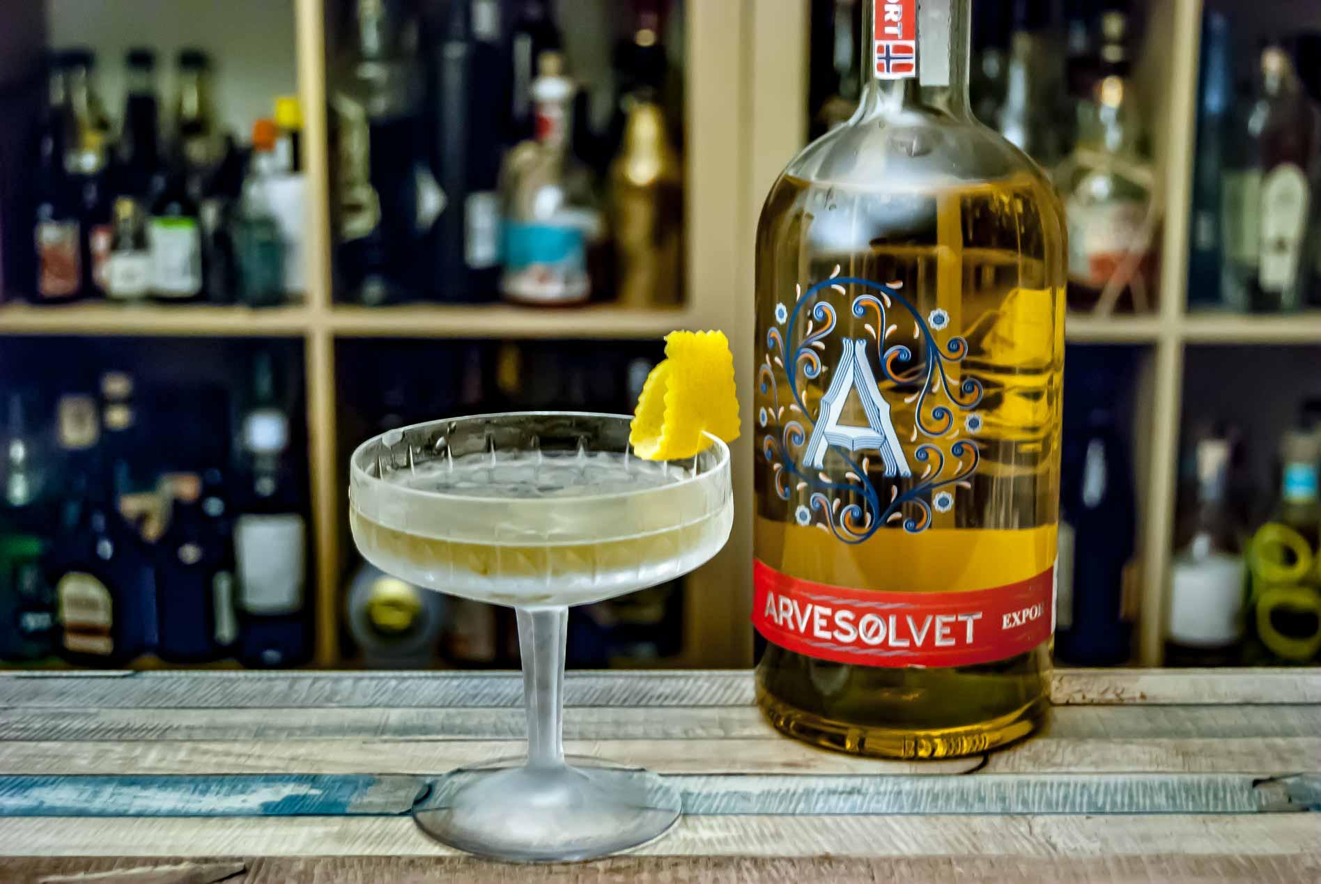 Gehen immer: Aquavit Martinis.