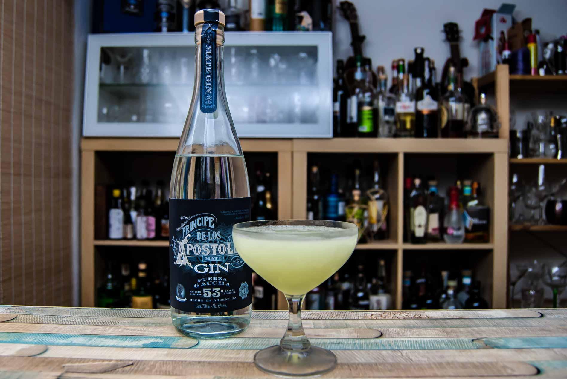 Príncipe de los Apóstoles Gin Fuerza Gaucha in einem Last Word Cocktail.