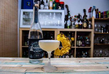 Príncipe de los Apóstoles Gin Fuerza Gaucha im Pineful Farewell Cocktail.