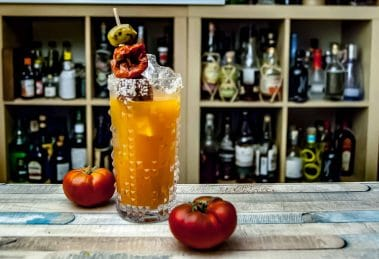 Der Red Snapper Cocktail ist eine Bloody Mary mit Stil.