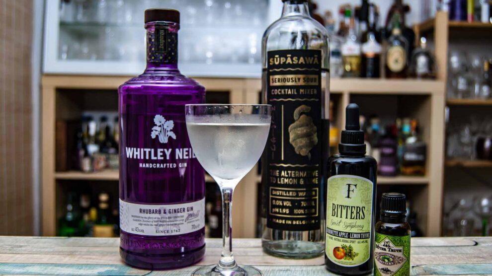 Klassische Martinis mit diesem Gin? Eher nicht. Aber dieser Kaugummi-Martini macht durchaus Spaß.
