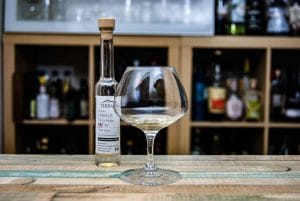 Terralta Tequila Extra Anejo 55% in der Pur-Verkostung.
