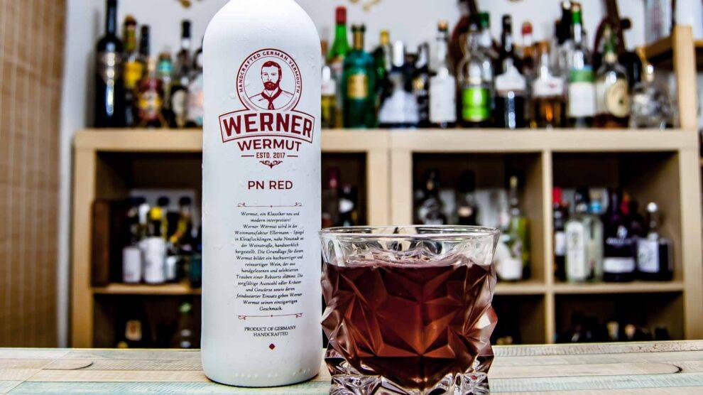 Werner Wermut Red im Negroni.