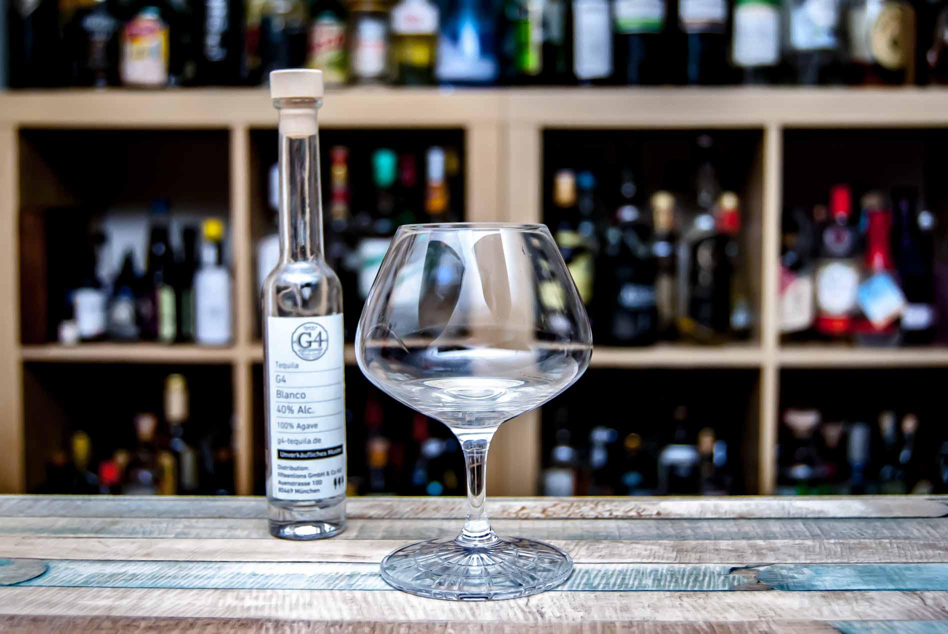 Wir verkosten den G4-Tequila Blanco.