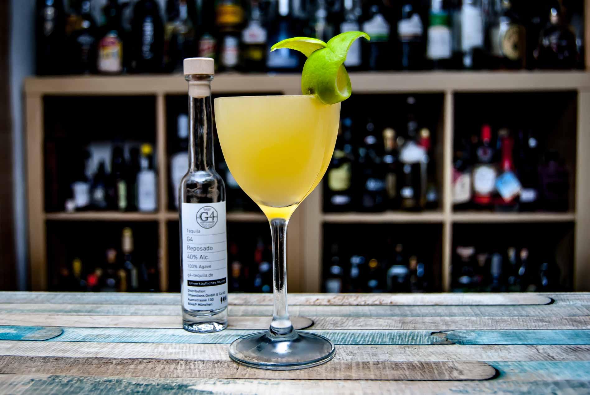 Der G4 Tequila Reposado in einer Elixirita.