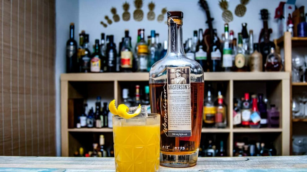 Masteron's Rye Whiskey im Rye Cotillion.