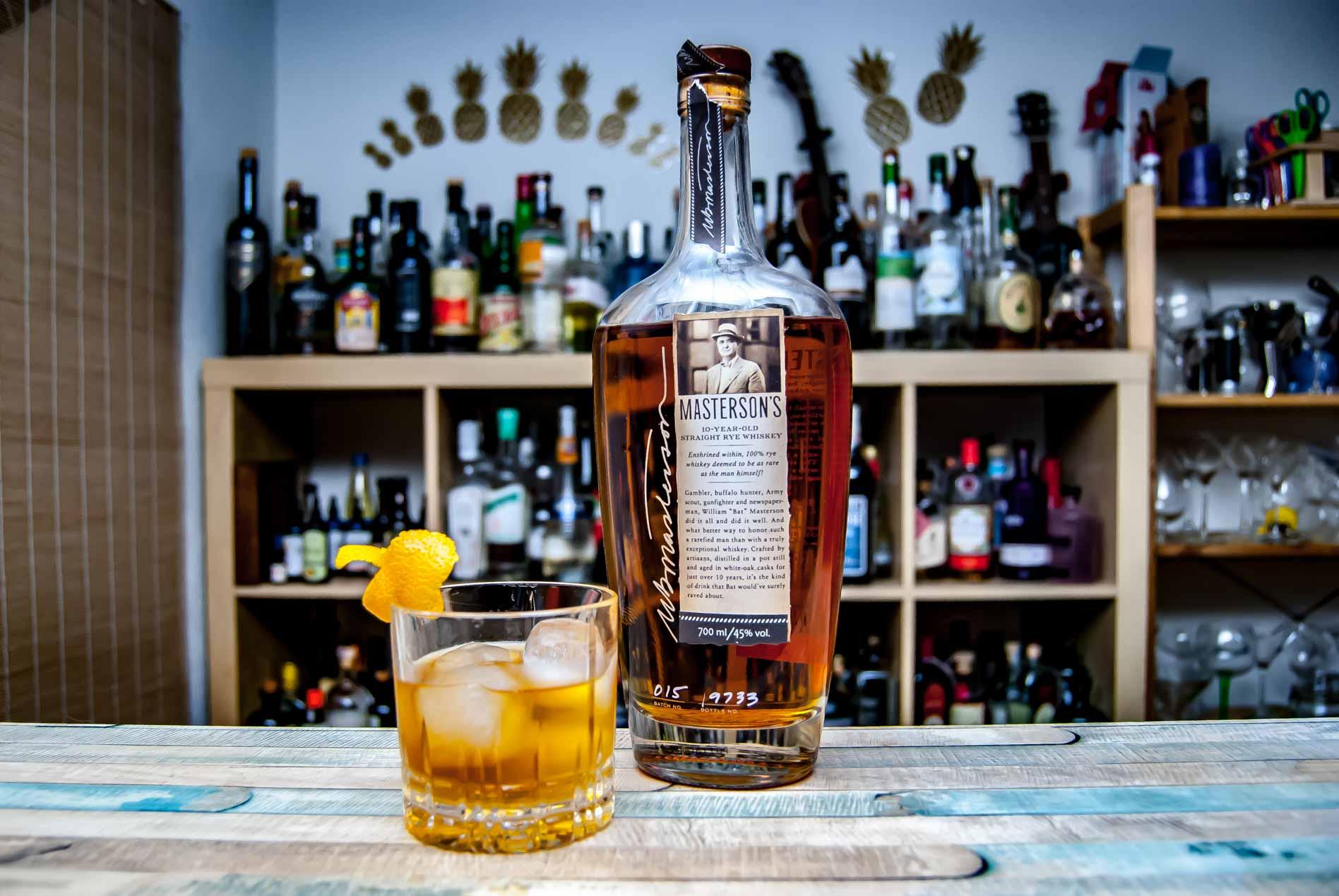 Masteron's Rye Whiskey im Old Fashioned.