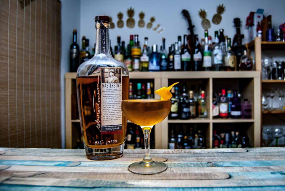 Masteron's Rye Whiskey in einem Purgatory Cocktail - Hammer.