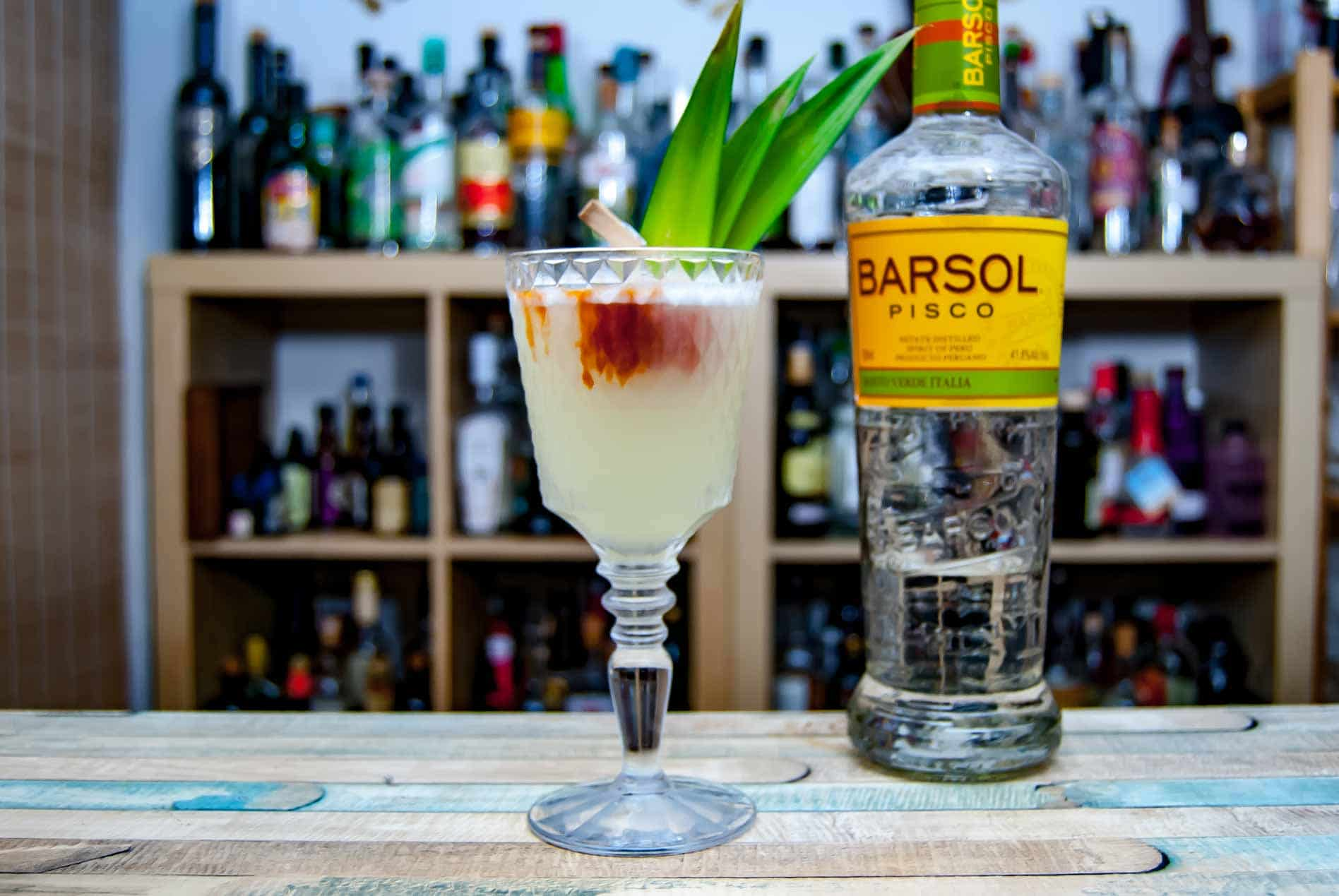 Wir nutzen für unsere Pisco Punches meist Barsol Pisco.