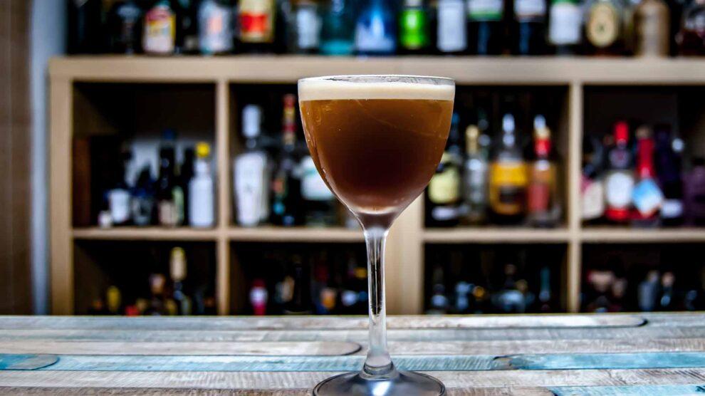 Ron Espero im Espresso Martini.