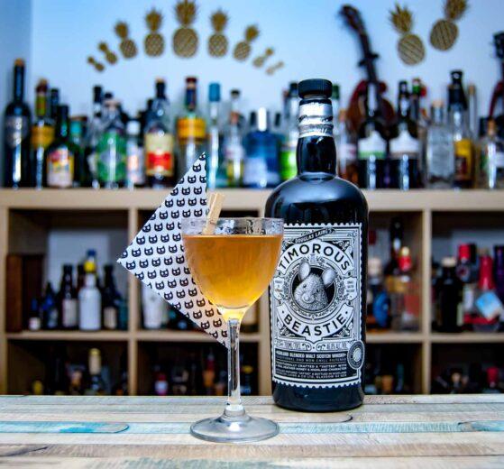 Timorous Beastie Blended Highland Scotch im Catfish Cocktail.