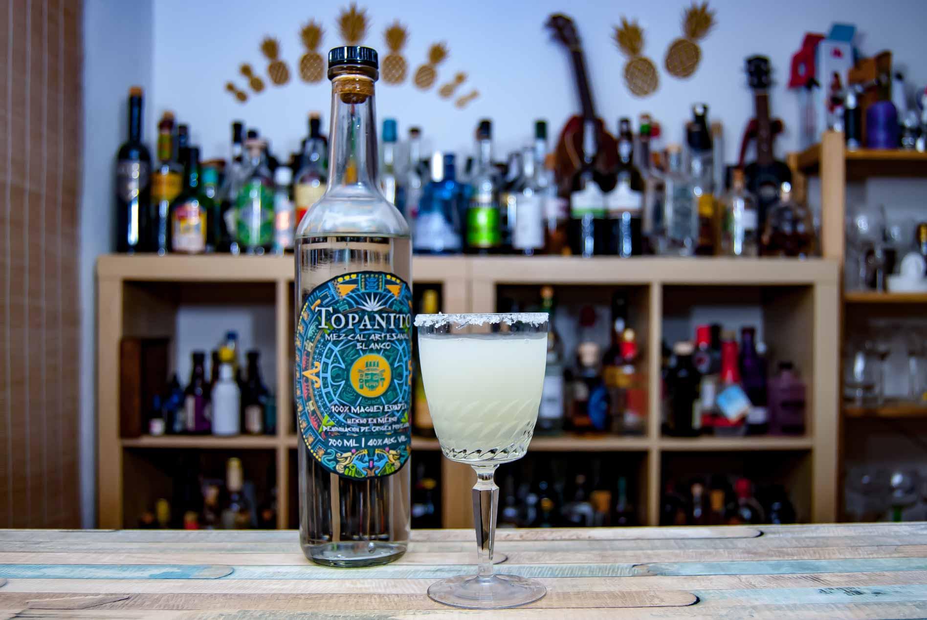 Die Mezcal-Margarita kam bei uns im Test mit der etwas milderen 40_Prozent-Variante besser an.