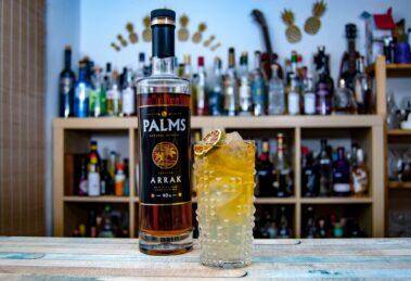 Palms Arrak im Dark and Stormy Cocktail.