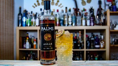 Palms Arrak im Dark and Stormy Cocktail.