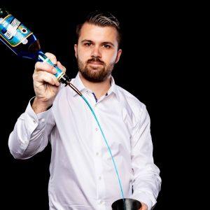 Hendrik Schulze, Bartender und Cocktail-Caterer.