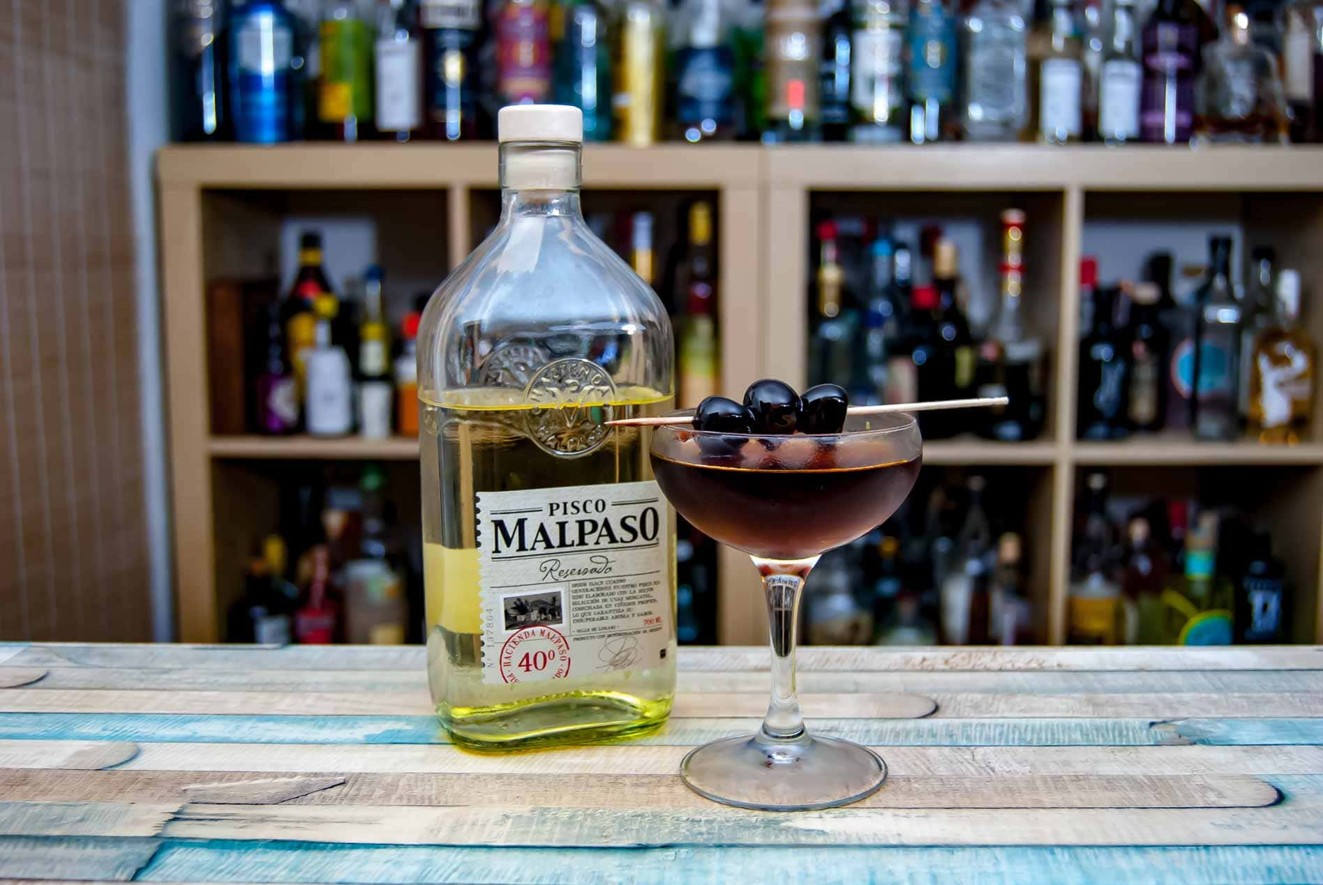 Malpaso Pisco Reservado im El Capitan Cocktail.