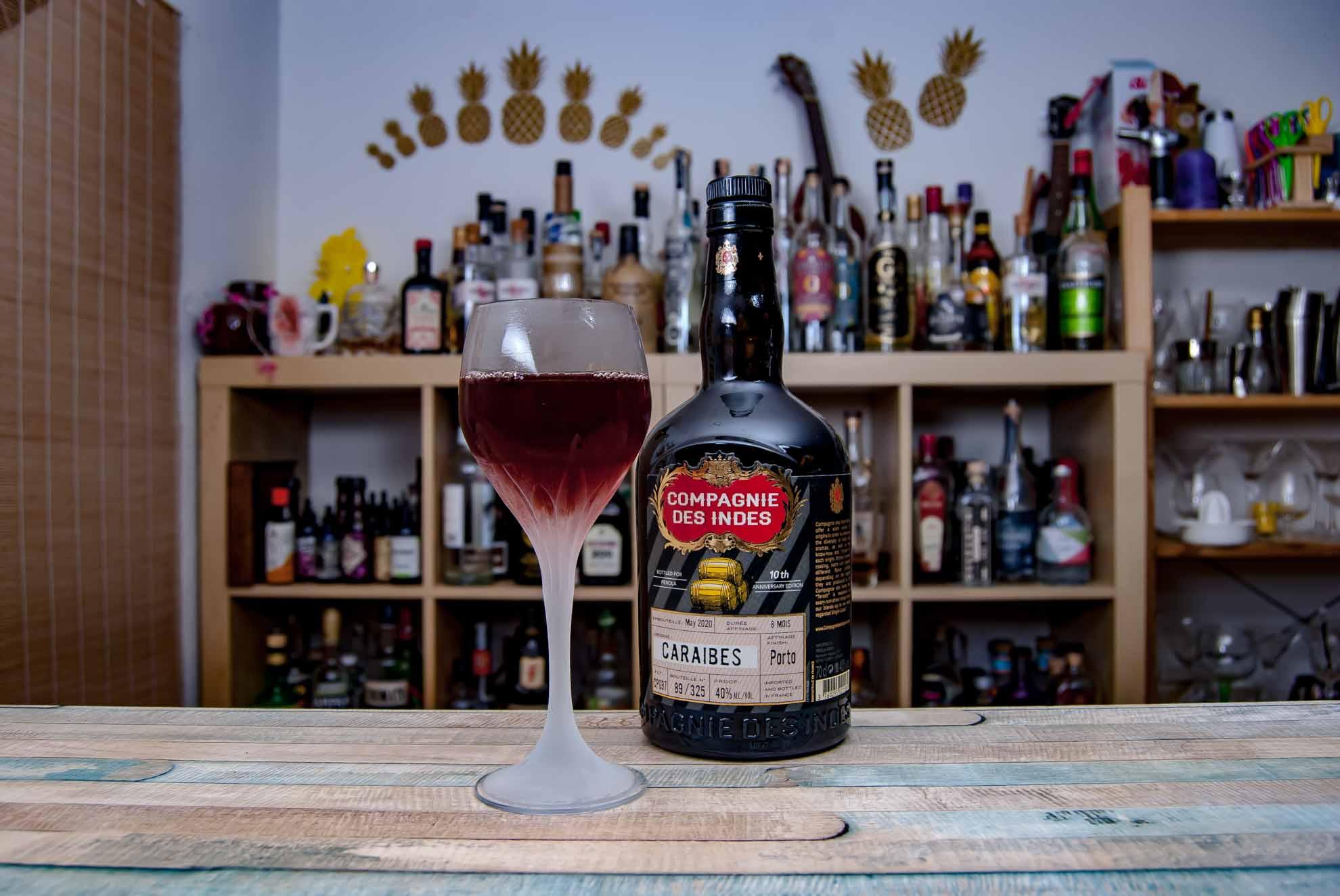 Der Rum & Port mit dem Compagnie des Indes Caraibes Port Cask Finish war schon gut - die Chinato-Variante noch einen Ticken besser.