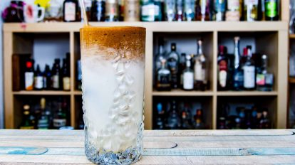 Dieser Dalgona Coffee Cocktail hielt einige Überraschungen für uns parat.