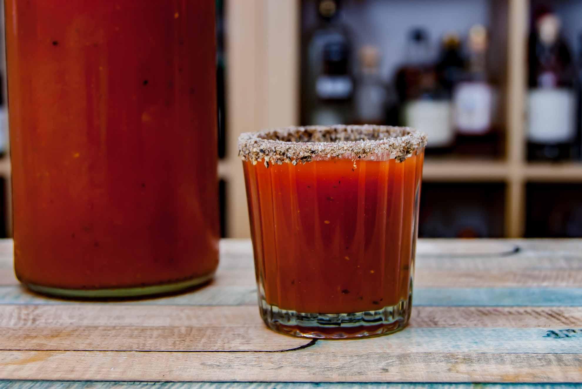 Der Salt & Pepper-Rim beim Mexikaner ist optional, macht aber mehr her und das Ding geschmacklich interessanter.