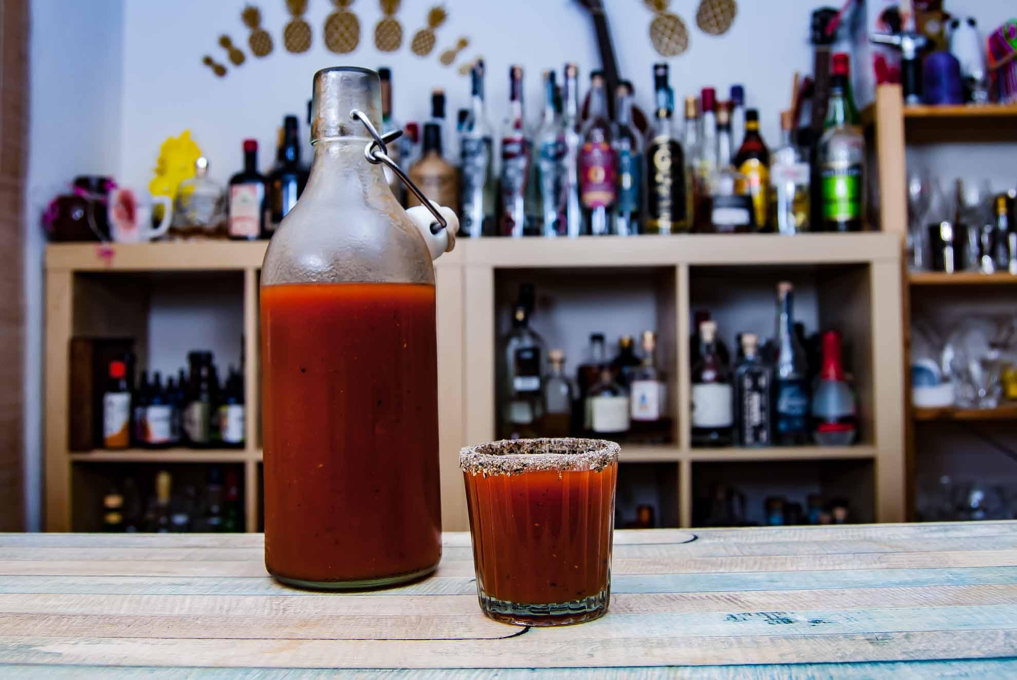 Ein Mexikaner - vielleicht der wichtigste Shot-Cocktail der letzten Jahre (zumindest in Deutschland).