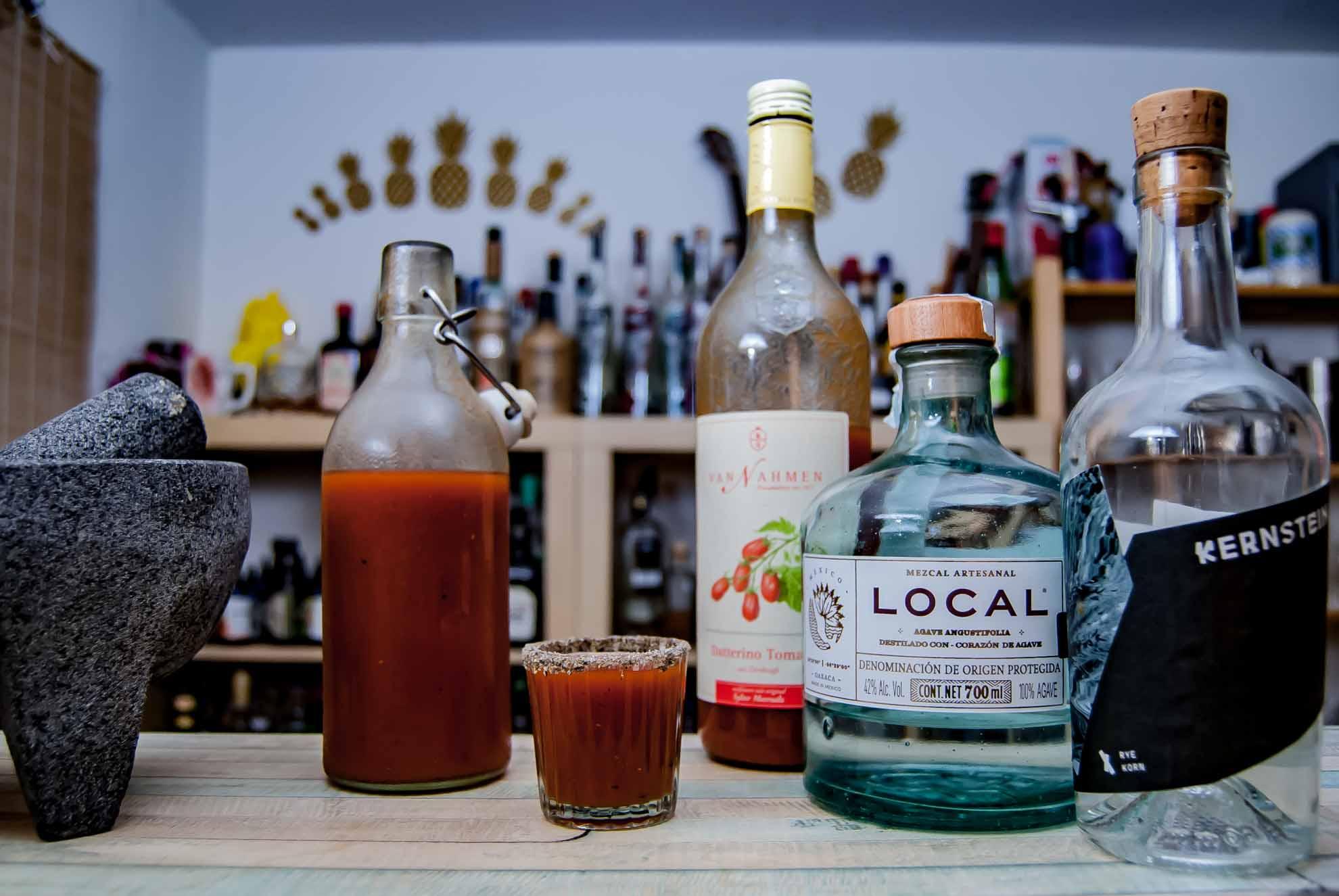 Mit den richtigen Zutaten wird ein Mexikaner zur komplexen Mini-Bloody Mary.