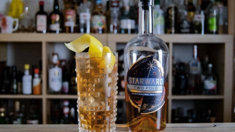 Starward Two-Fold Whisky im Horse's Neck.