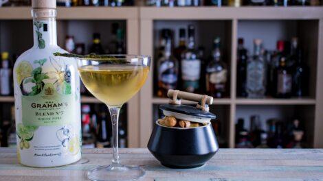 Weißer Port im Bob Harris-Cocktail.