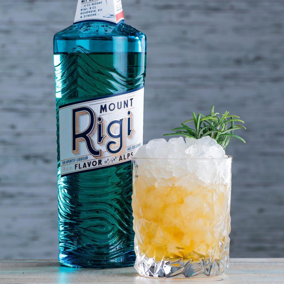 Ein Stingerli, ein Twist auf den klassischen Stinger mit Mount Rigi.