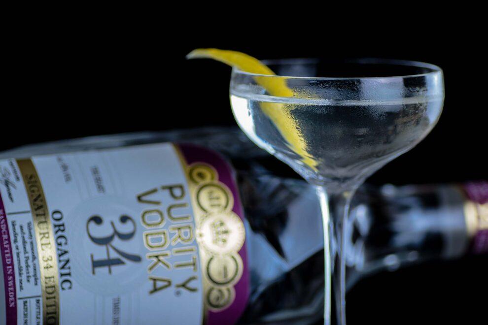 Ein Vesper Martini nach James Bond.
