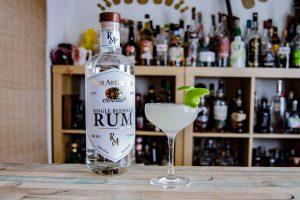 Rum Artesanal Burke's White Blend im Daiquri.