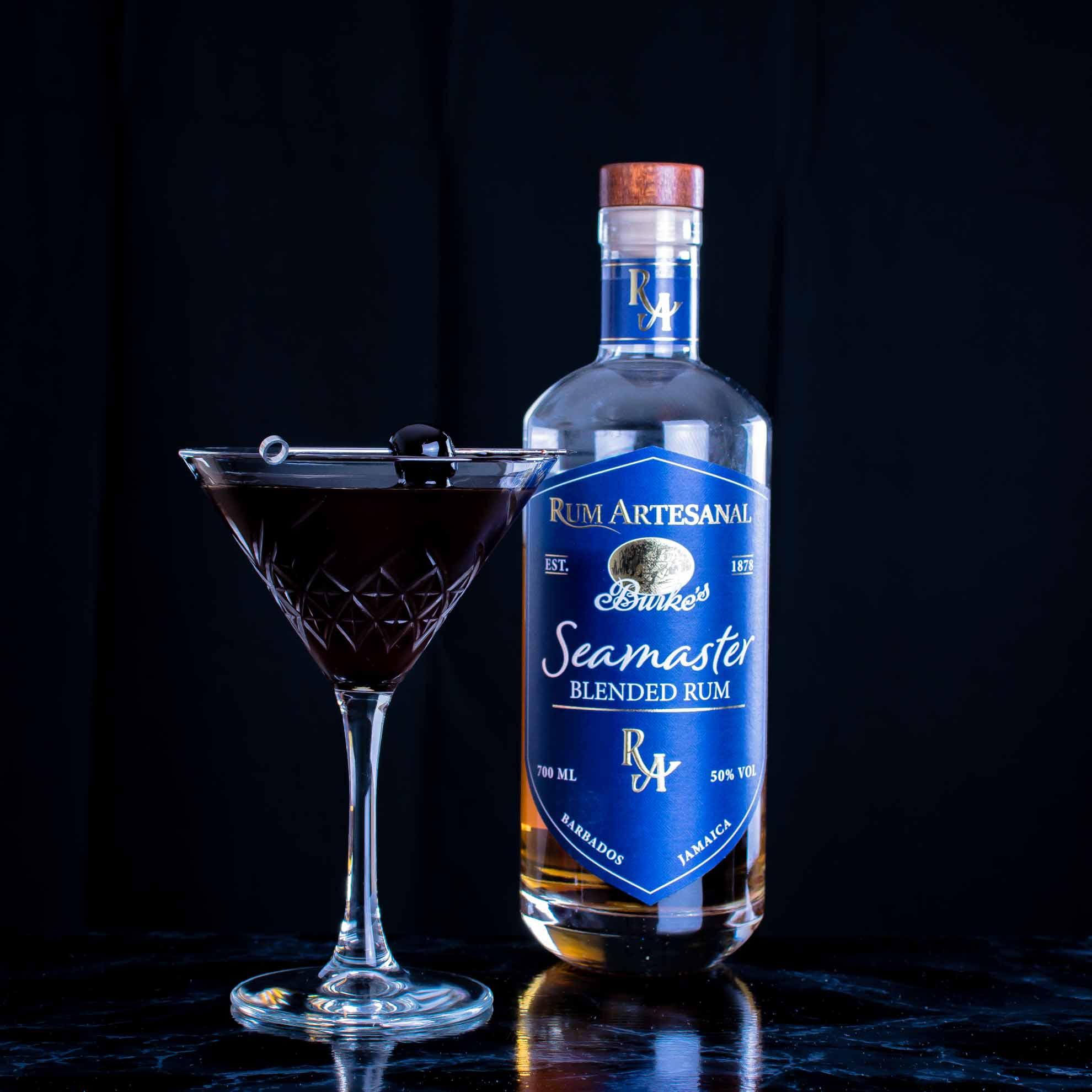 Rum Artesanal Burke's Seamaster Blended Rum im Coffee & Contemplation Cocktail.