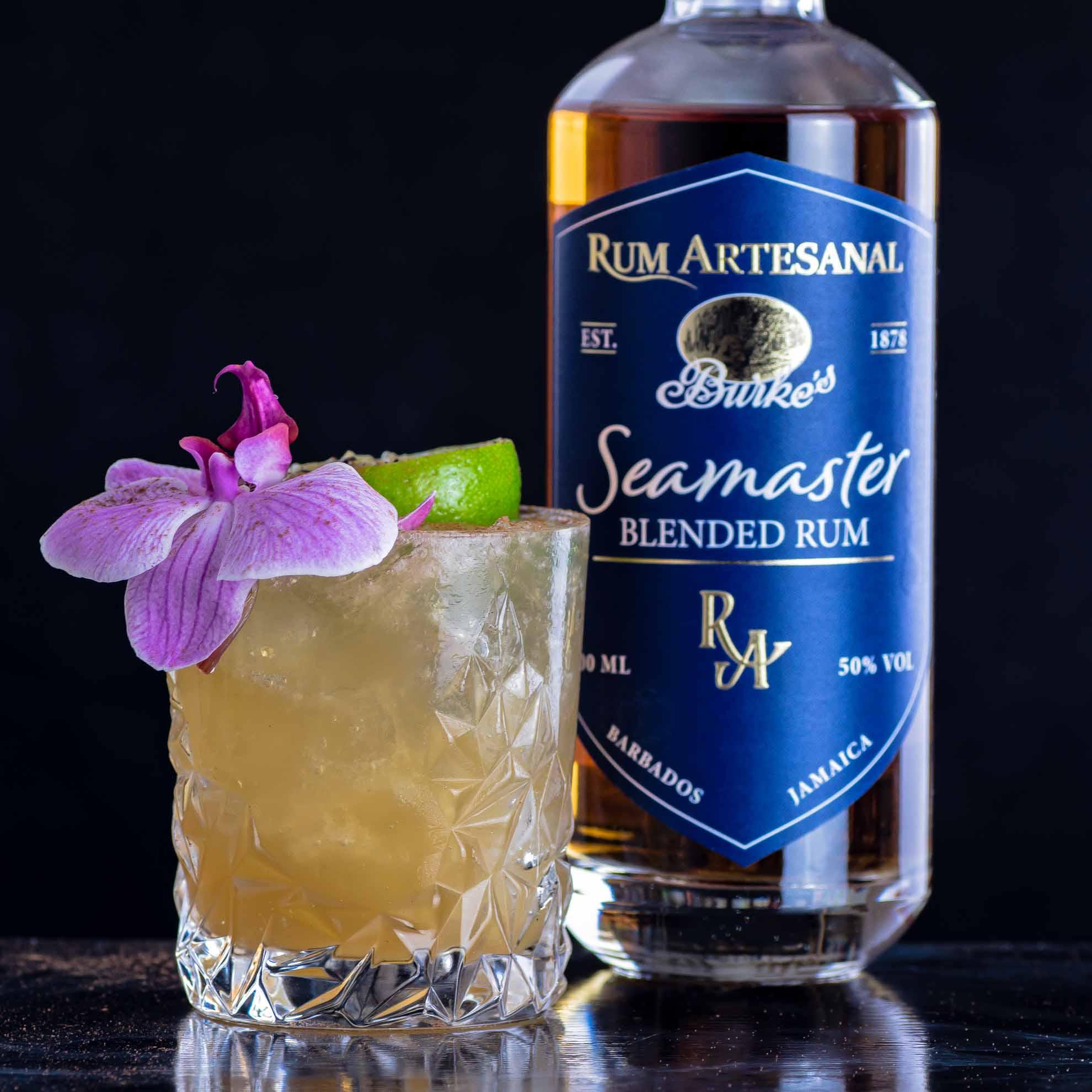 Rum Artesanal Burke's Seamaster Blended Rum im Devil's Lap Cocktail.