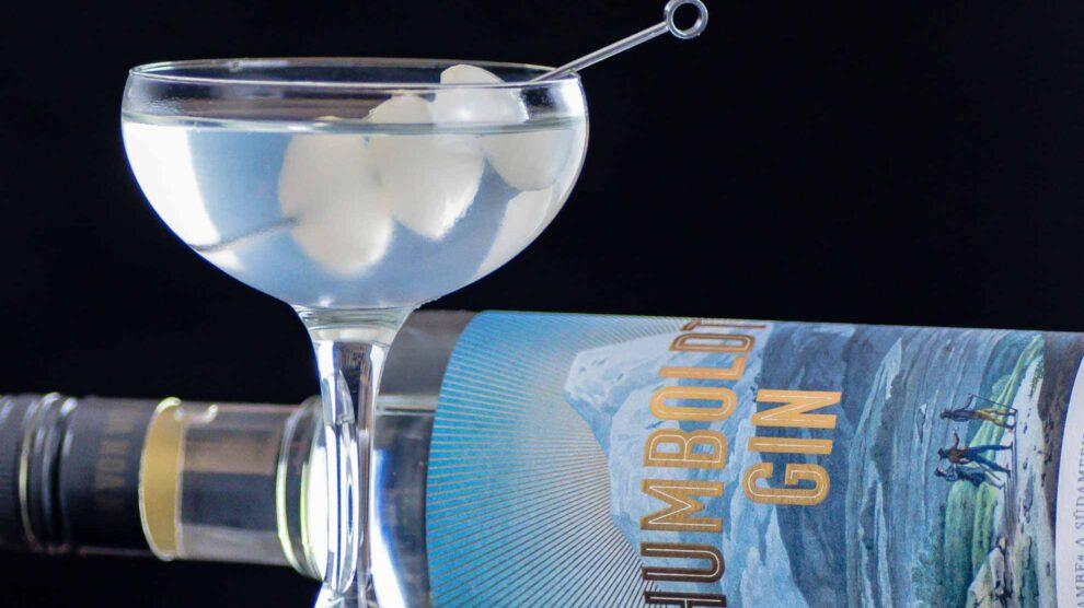 Humboldt Gin im Gibson Martini.